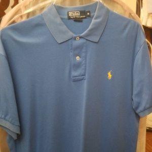 Polo by Ralph Lauren blue polo shirt M